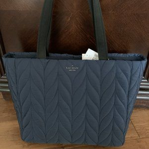 Kate Spade Ellie Large Nylon Tote in Nightcap, NWT